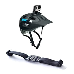 Accessories for Gopro HD Hero 2--Vented Helmet Strap Mount Adapter For Gopro HD Hero1 Hero2 Hero3 Hero3+