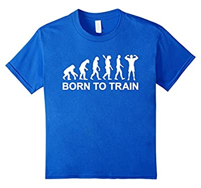 Evolution born to train bodybuilding T-Shirt