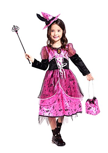Ace Halloween Children's Kids Girls Cute Witch Costumes