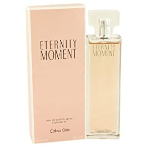 Eternity Moment By Calvin Klein - Eau De Parfum Spray 3.4 Oz