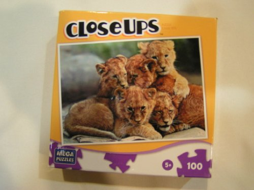 Lion Cubs 100 Pc Puzzle