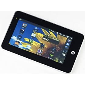 Tablet-PC 7.4 7-Inches 4GB Android 2.1/2.2 Operating System (OS)