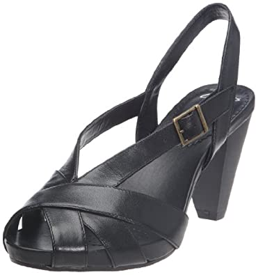 Clarks Saturn Whizz , Sandales femme - Noir, 36 EU (3.5)