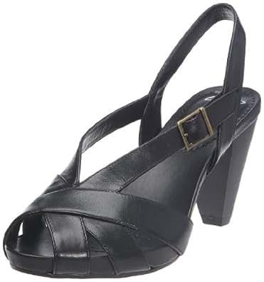 Clarks Saturn Whizz , Sandales femme - Noir, 39.5 EU (6)