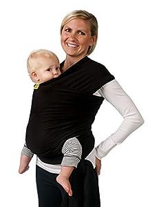 Boba Baby Wrap, Black, 0-36 Months