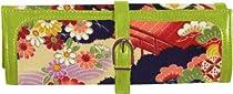 Hot Sale Cris Notti Green Kimono Jewelry Roll