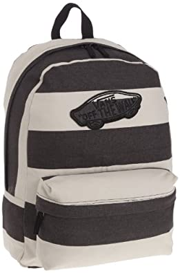 Amazon.com: Vans Realm Backpack Book Bag , Beige-Black: Shoes