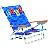 414CxzLChxL. SL160  New 2012 Rio Beach Chair Island Sandals (125) 5 Position Lay flat Chair