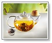 Sun's Ultra Clear Heat Resistant Borosilicate Glass Teapot & Infuser