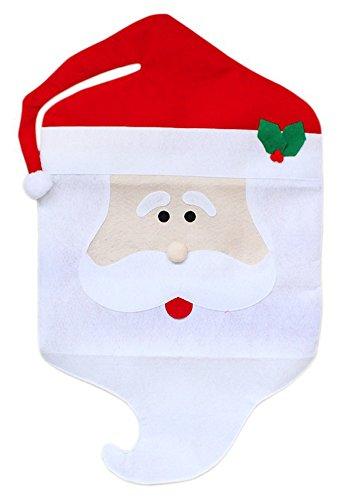 Novità Natale Copri Sedie Decorazioni di Natale - Nonno/Babbo Natale