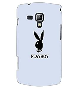 PrintDhaba Playboy D-5601 Back Case Cover for SAMSUNG GALAXY S DUOS S7562 (Multi-Coloured)