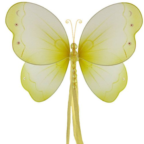 Hanging Nylon Butterfly Decorations - nursery bedroom wedding party shower room decor - 11