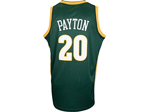 Gary Payton Seattle Supersonics Adidas NBA Throwback Swingman Jersey - Green (Gary Payton compare prices)