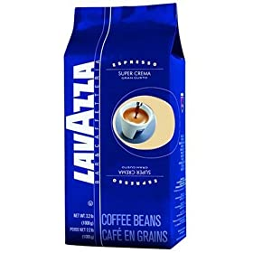 Lavazza 4202A 2.2 Pound Super Crema Espresso Whole Bean
