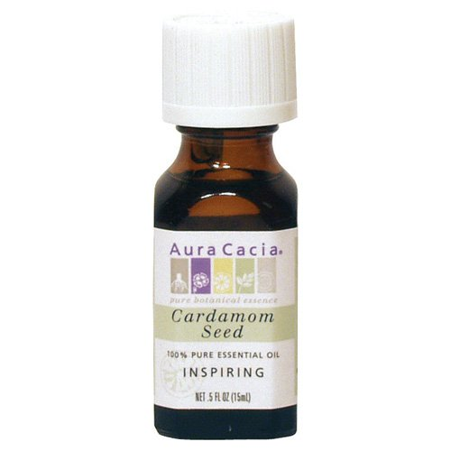 Aura Cacia Essential Oil, Inspiring Cardamom Seed, 0.5 fluid ounce