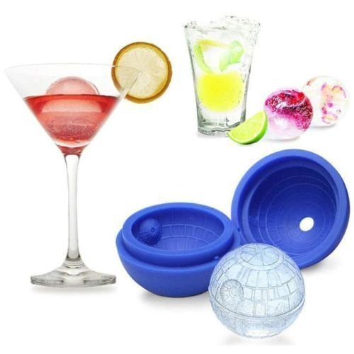 2-Pack Star Wars Death Star Silicone Ice Cube Mold / Tray