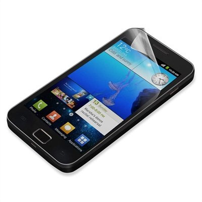 meroTronic 1 x Anti Glare Screen Protection für Samsung Galaxy S2 i9100- Anti Glare Screen Guard - 1 x Vorderseite :::: NEU :::: Displayschutzfolien für Smaung S2 i9100 !