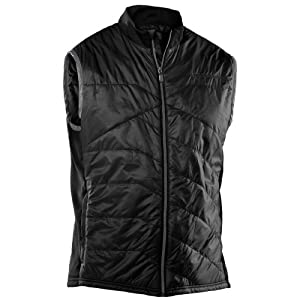 Insulated Golf Vest Gilet Black / Graphite Small: Sports & Outdoors