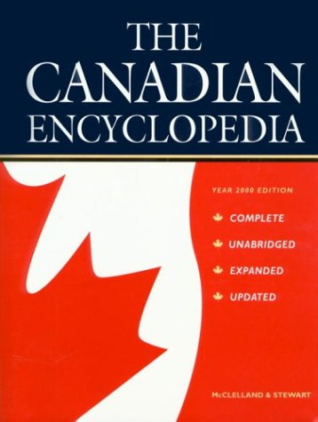 Image for The Canadian Encyclopedia: Year 2000 Edition