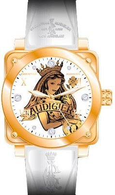 Christian Audigier Watches:Christian Audigier's Women's Fortress Collection Queen of Clubs watch #FOR-201 Images