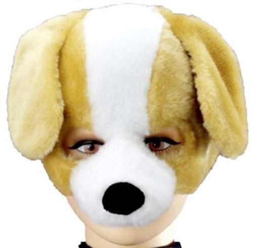 Forum Novelties Animal Soundz Puppy Dog Half Mask