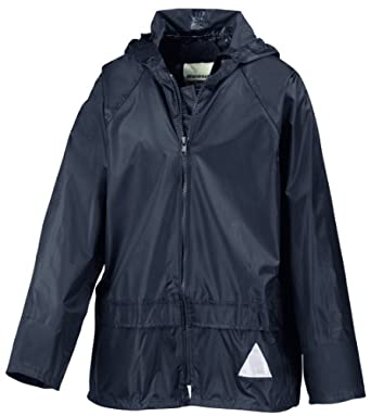 Kids weatherguard jacket and trouser navy age 3-4