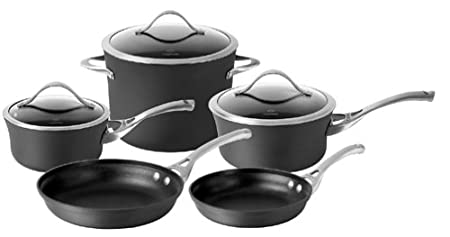 simply calphalon nonstick 10 piece set calphalon nonstick 8 piece set - Calphalon Cookware Set