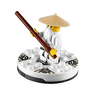 LEGO Ninjago - Sensei Wu Figure with Spinner