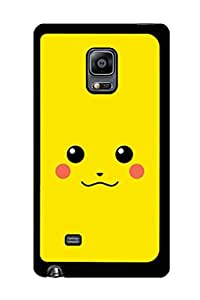 Caseque Dub Pikachu Back Shell Case Cover For Samsung Galaxy Note 4 Edge