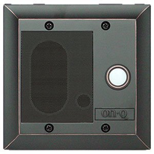 Cat5 Intercom Door Unit-Oil Rubbed Bronz