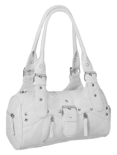 EyeCatchBags - Miami Damen Handtasche Weiss