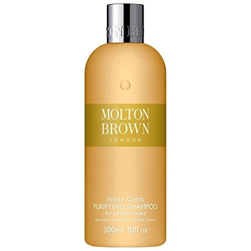 Molton Brown Indiano Crescione Purificante Shampoo 300ml (Confezione da 2)
