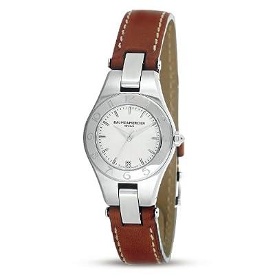 Baume & Mercier Women's MOA10036 Linea Silver Dial Watch