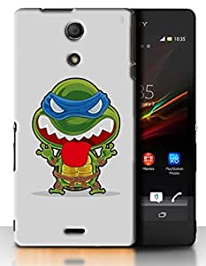 PrintFunny Designer Printed Case For SonyXperiaZR