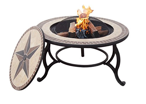 Table firepit large fire bowl ogd027 at garden for Concreteworks fire table