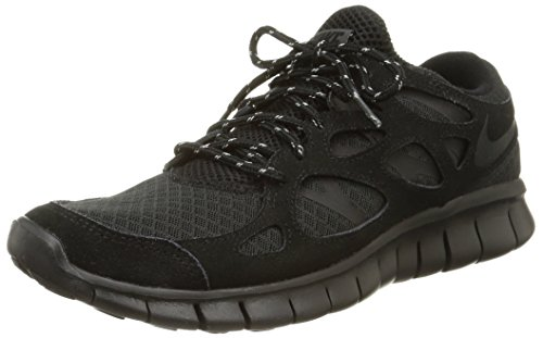 nike free run 2 mens running trainers 537732 sneakers shoes (uk 6 us 7 eu 40, black black dark grey 020)