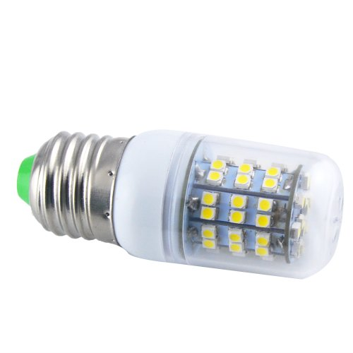 Thg 4Pcs E27 360 Degree 60 Smd 3528 Led 450Lm Warm White Ultra Bright Corn Light Lamp Bulb 3000-3500K Equivalent Halogen 50W