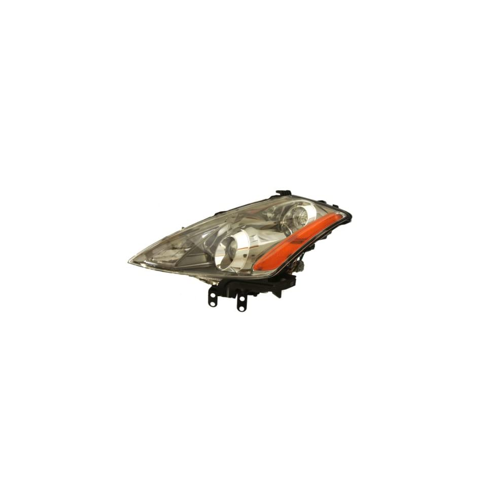 OE Replacement Nissan/Datsun Murano Driver Side Headlight Assembly Composite (Partslink Number NI2502174)