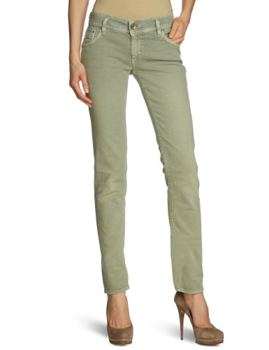GAS - Jeans boot cut, donna, Verde (Grün (GREEN OIL 0884)), 40/42 IT (27W/34L)