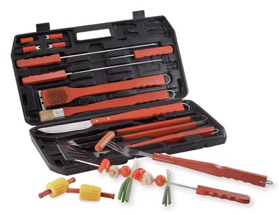 18 Piece Barbeque Set with Carrying Case - Buy 18 Piece Barbeque Set with Carrying Case - Purchase 18 Piece Barbeque Set with Carrying Case (Winning Gifts, Home & Garden, Categories, Kitchen & Dining, Cook's Tools & Gadgets, Tool & Gadget Sets)