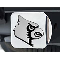 Buy FANMATS NCAA University of Louisville Cardinals Chrome Hitch Cover by Fanmats