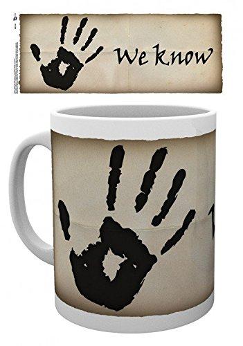 Skyrim - The Elder Scrolls V, We Know Tazza Da Caffè Mug (9 x 8cm)