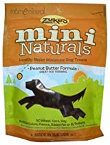 Mini Naturals, Healthy Moist Miniature Dog Treats, Peanut Butter Formula, 6 oz (170 g) by Zuke's