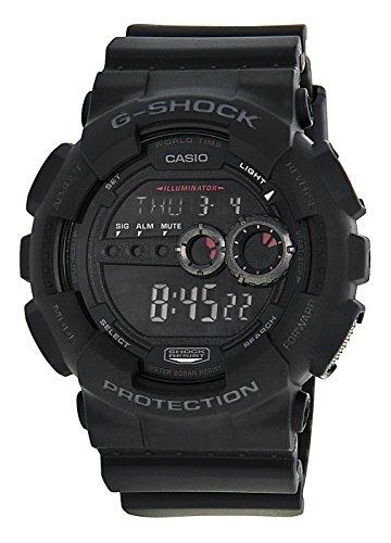 Casio-Mens-GD100-1BCR-G-Shock-X-Large-Black-Multi-Functional-Digital-Sport-Watch