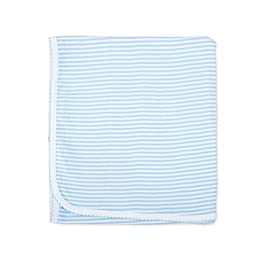 Magnolia Baby Baby Boys Essentials Striped Receiving Blanket Blue (One Size)