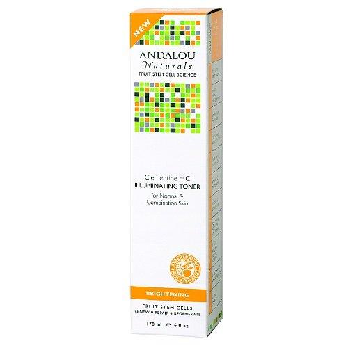 Andalou Naturals Clementine + C Illuminating Toner 6 Fl Oz (178 Ml)