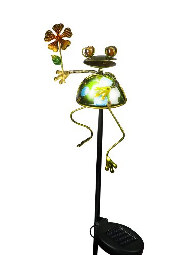 Transcontinental-Group-Frog-Holding-Lily-Leaf-Garden-Stake-with-Solar-Powered-LED