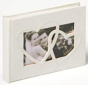 "Walther FA-123 Album photo mariage ""Sweet Heart"" 40 pages 22 x 16 cm Blanc"