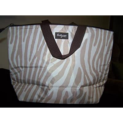 Thirty-One Thermal Tote Wild Zebra