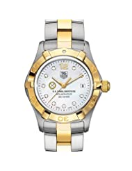 US Naval Institute Women's TAG Heuer Two-Tone Aquaracer Watch with Diamonds